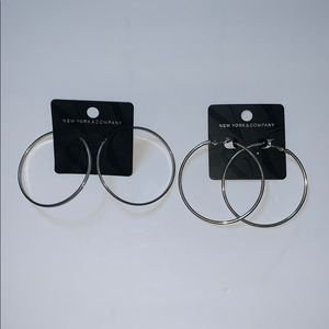*NEW* NY&C Hoop Earring Bundle